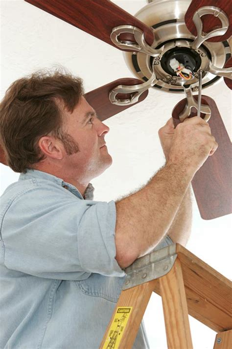 How To Repair A Ceiling Fan by How To Troubleshoot Repair Ceiling Fan Problems