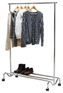 decobros supreme two layer clothing garment rack chrome