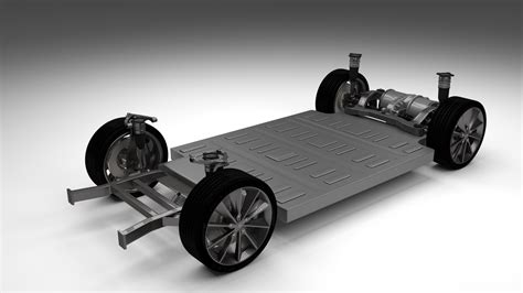 Tesla Chassis Tesla Model S Chassis By Dragosburian 3docean
