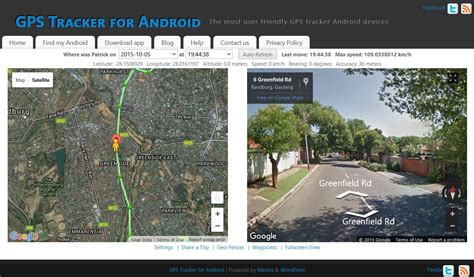 android tracking gps tracker for android