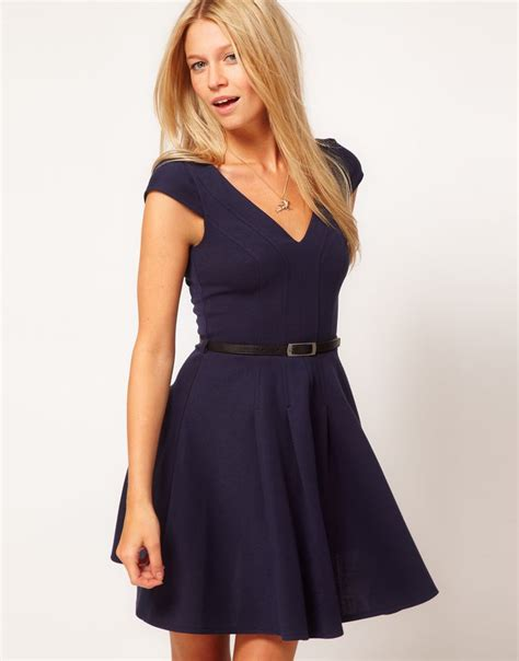 asos skater dress with belt 61 57 my style