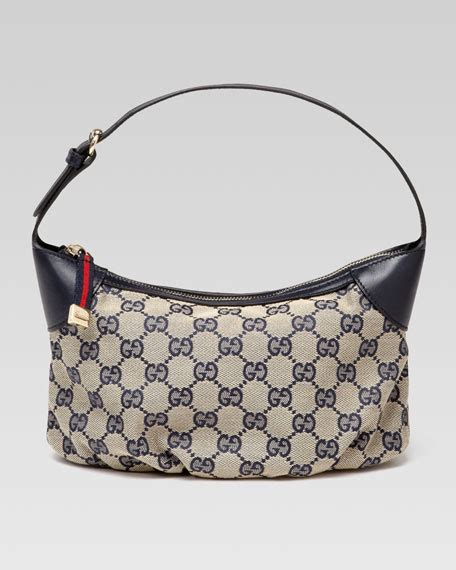 gucci plisse sling cosmetic blue