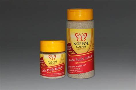 Supplier Boots E Pasir Putih 9gl1 koepoe koepoe herbs and spices lada putih bubuk 38 gram white pepper powder