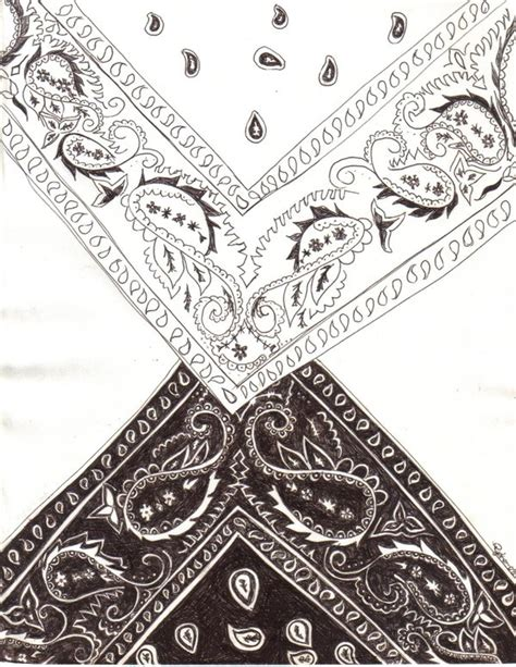 bandana print tattoo bandana by blackroseryoko on deviantart