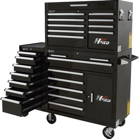 Homak H2pro Side Cabinet by Homak H2pro 18in 7 Drawer Side Cabinet Black Model