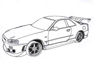 fast and furious coloring pages 2 coloring pages
