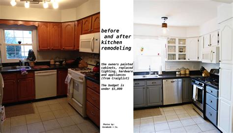 Low Cost Kitchen Remodel by Low Cost Kitchen Renovation The Kitchen Times