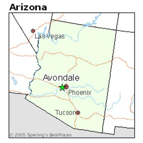 avondale arizona map best places to live in avondale arizona