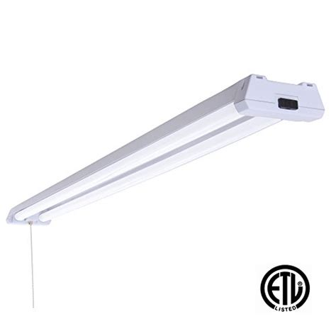 Garage Ceiling Light Fixtures Led 4ft Utility Shop Light 40w 100w Replacement 5000k Daylight Garage Ceiling Fixture 4100
