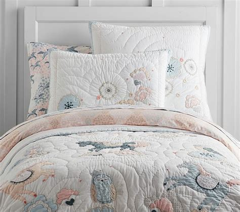comforters with horses on them clara horse quilt pottery barn kids