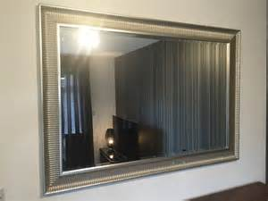 Ikea songe large silver framed wall mirror in coventry west