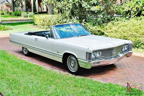 68 Chrysler Imperial maybe the best original 68 chrysler imperial convertible