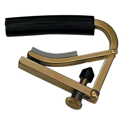 Capo Gitarbass shubb c1b guitar capo brass from rimmers