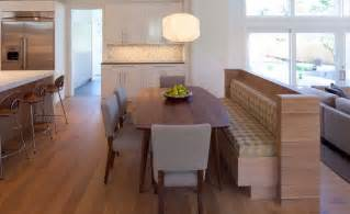 Bench Tables For Kitchen How A Kitchen Table With Bench Seating Can Totally Complete Your Home