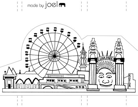 paper city template made by joel 187 paper city sydney opera house and park