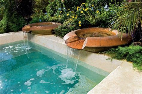 pool fountain ideas water fountains for pools fountain design ideas