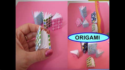 diy origami notizbuch schnell und einfach falten mini