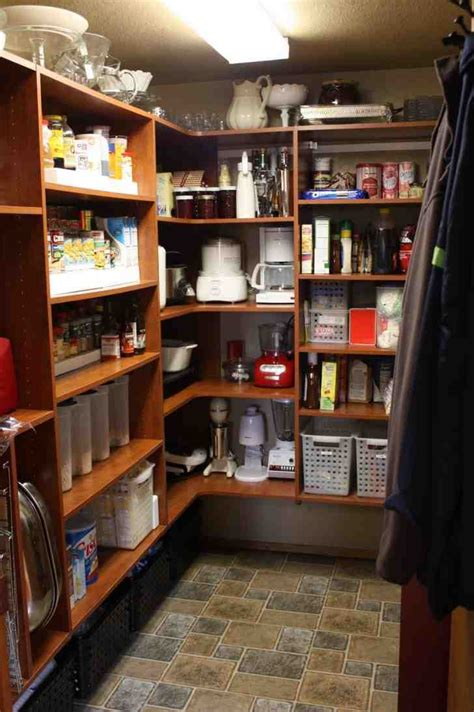 wood pantry shelving systems decor ideas