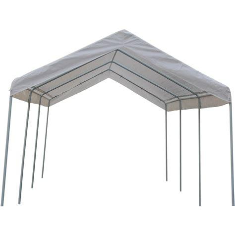 10 x 20 canopy walls 10x20 canopy carport with side walls 115407 garage