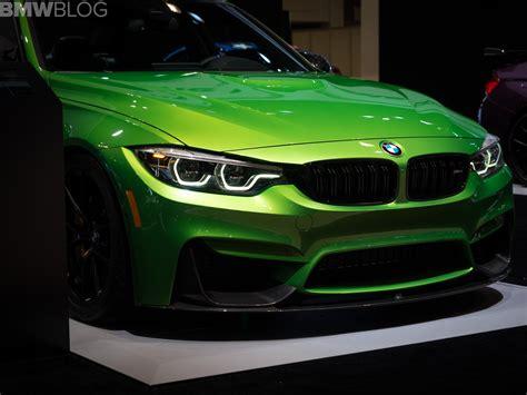 Bmw 1er Farben 2018 by Chicago Auto Show 2018 Bmw M3 Und M4 In Individual Farben