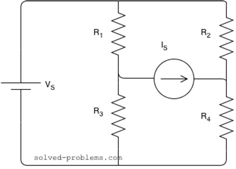 resistor superposition circuits problem mesh analysis supermesh solved problems
