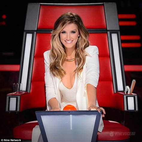 the voice australia jessie j delta goodrem and benji delta goodrem brushes off social media backlash the voice