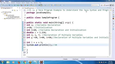 java swing exles programs java for selenium part 2 java program exle and