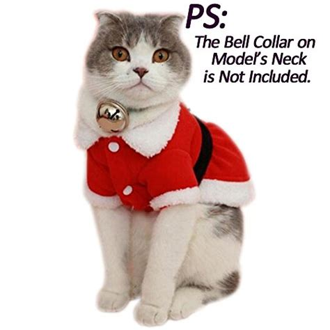 costumes for small dogs bolbove pet santa claus dress costume for small dogs cats
