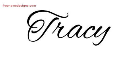 tracy archives free name designs