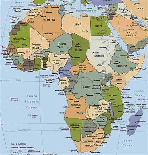 of africa map africa map map pictures