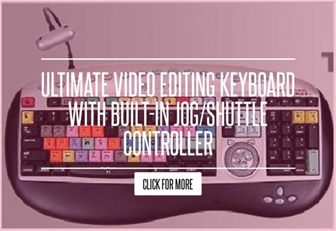 final cut pro jog shuttle controller ultimate video editing keyboard with built in jog shuttle