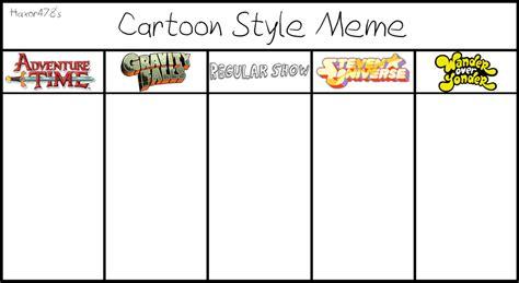 Meme Comic Template - cartoon style meme blank meme by haxor478 on deviantart