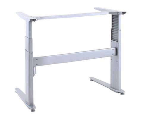 Conset 501 27 Low Height To Standing Height Desk Frame Height Adjustable Desk Frames