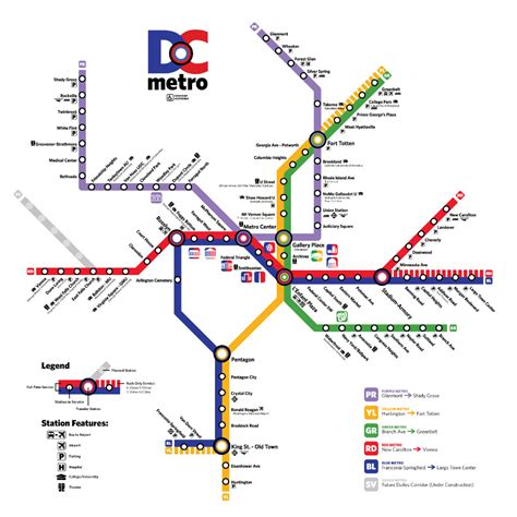 dc subway map the dc metro giesler graphic designer creative thinker