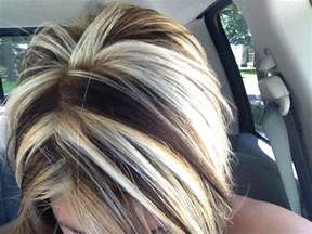 how to add colour chunks to hairstyles chunky hair color love the contrast hair pinterest