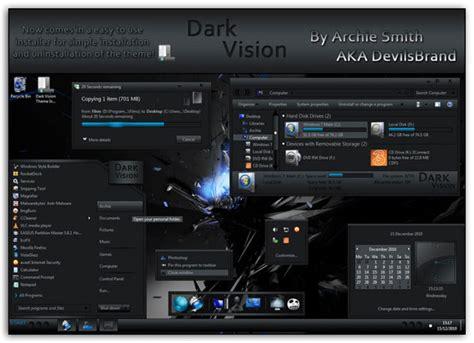 download theme xenomorph for windows 7 30 best dark custom windows 7 themes