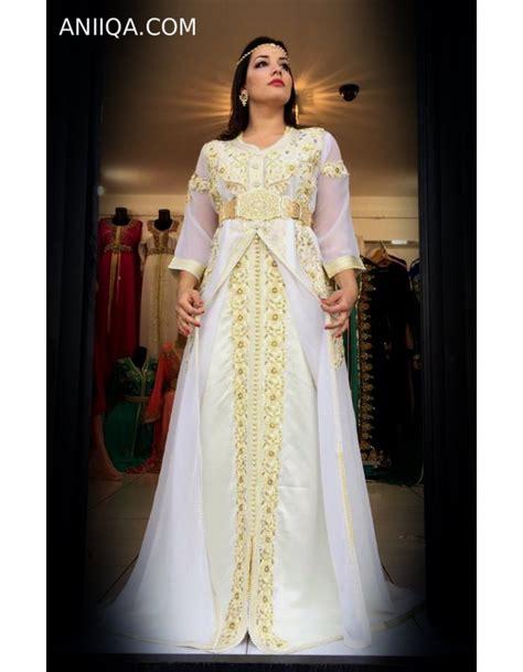Robe Marocaine Mariage 2018 - caftan mariage 2018 tendance et moderne robe marocaine de