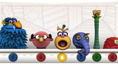 doodle 4 interactive jim henson honored with interactive muppets doodle
