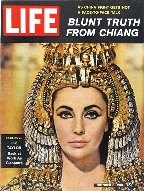cleopatra a from beginning to end books october 6 1961 issue of liz back at work as