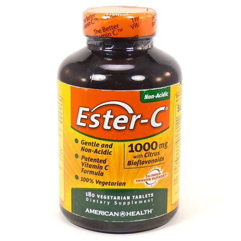 Vitamin Ester C Ester C Vitamin C 1000 W Citrus Bioflavonoids By American