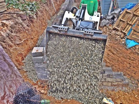 1000 images about how to backfill a retaining wall ryan s landscaping on pinterest