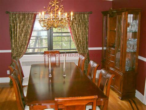 curtains for dining room windows custom draperies curtains in manhattan ny new york city nyc