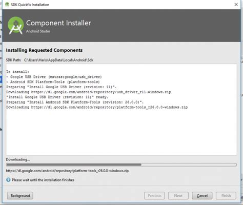 android tools and drivers android sdk installation for windows 7