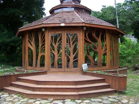 Backyard Enclosed Gazebo Best 25 Enclosed Gazebo Ideas On Garden