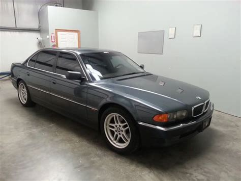 bmw m parallel buy used 2000 00 bmw 740il m parallel sport wheels runs
