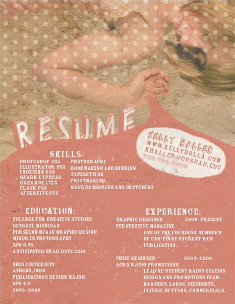 45 creative resumes to seize attention hongkiat