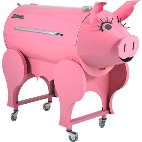 Traegers Pig Barbecue Will You Cooking Tofu And Soy Products Faster Than You Can Say Oink by Traeger Lil Pig Pellet Grill On Cart Shopperschoice