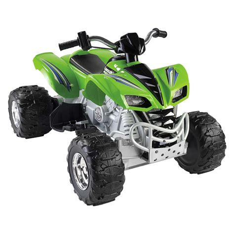 power wheels power wheels 174 x6641 green kawasaki kfx