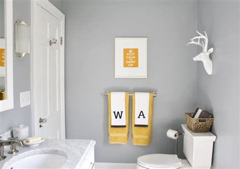 Gray And Yellow Bathroom Ideas Yellow Bathroom Ideas Check Out Other Gallery Of Gray And Yellow Bathroom Bathrooms