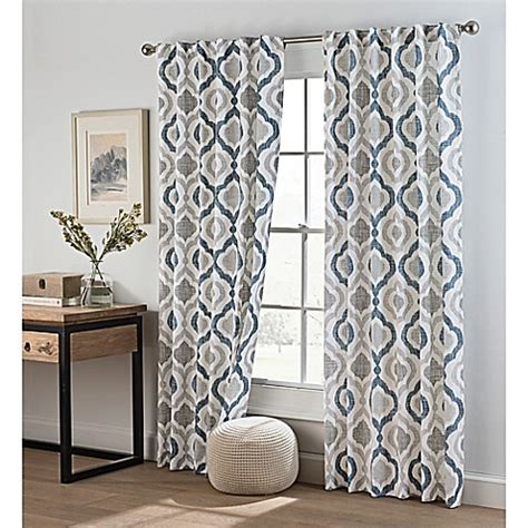 ogee curtains buy cambree ogee rod pocket back tab window curtain panel